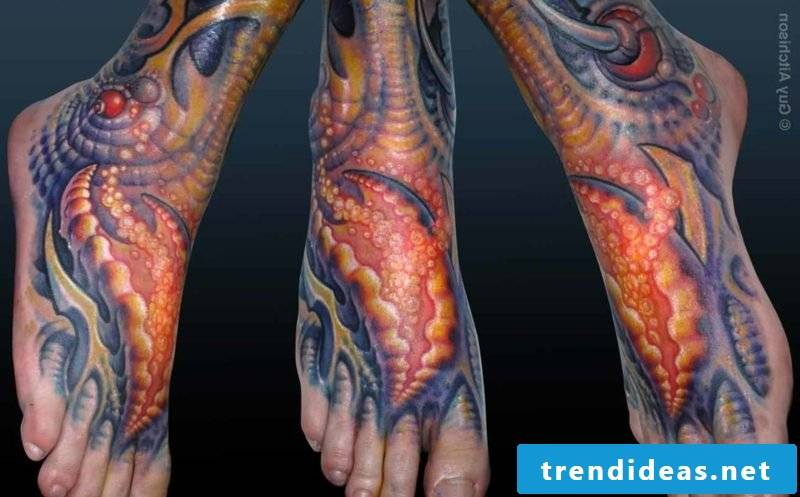 biomechanical tattoos biomechanics tattoo calf mechanical tattoos