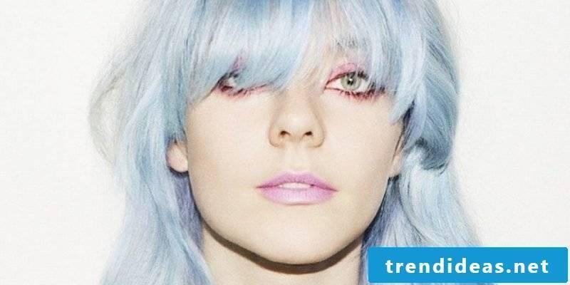 blue hair haircolors blue trend hair color ice blue