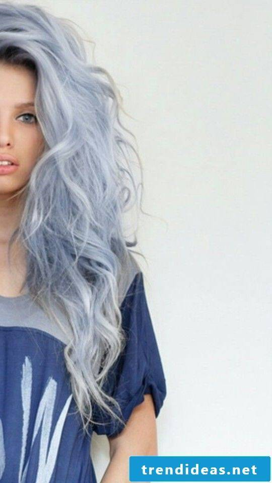 blue hair hair colors blue trend hair color ice blue women's hair