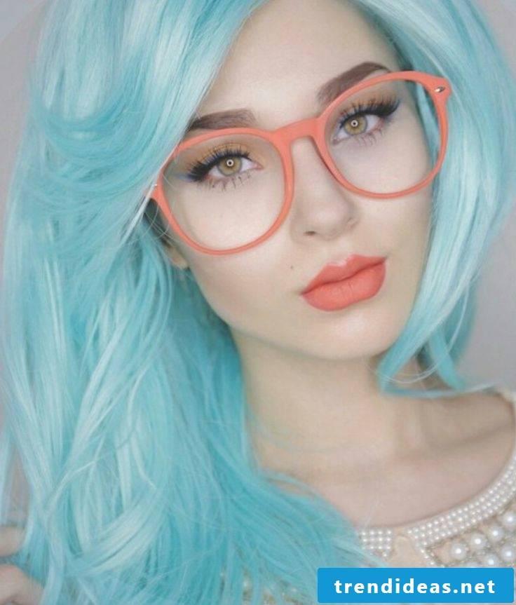 blue hair hairstyles blue trend hair color cool modern hair colors
