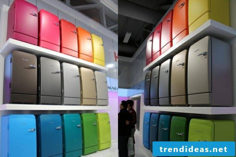 Bosch Retro Refrigerator Variety of colors and models