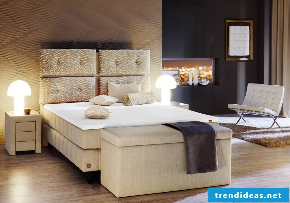 Boxspring beds of the luxury class