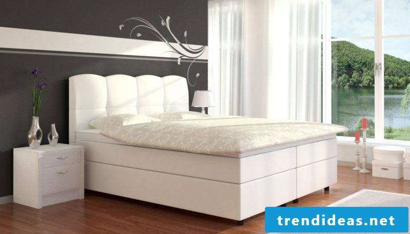 Boxspring beds of the luxury class - luxury for body and soul