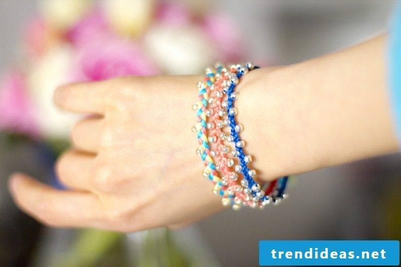 bracelets braiding beads