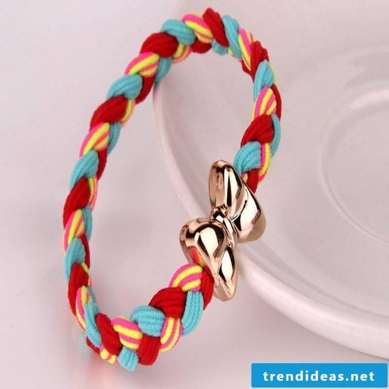 bracelets braiding beautifully