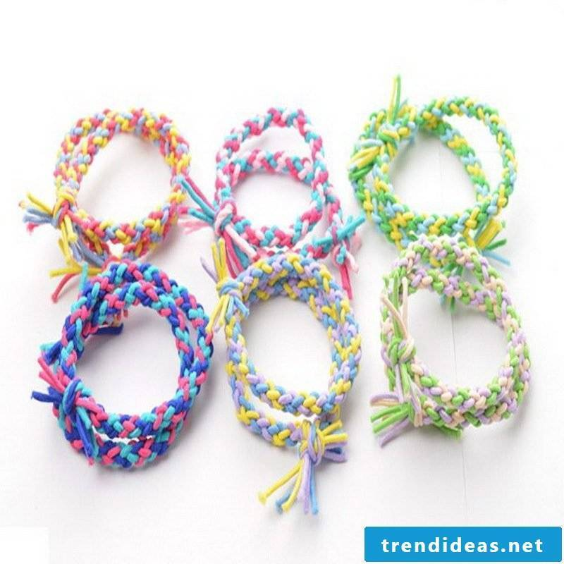 bracelets braiding different