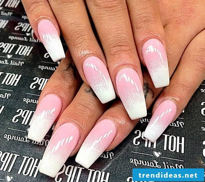 Fingernail Design Ombre
