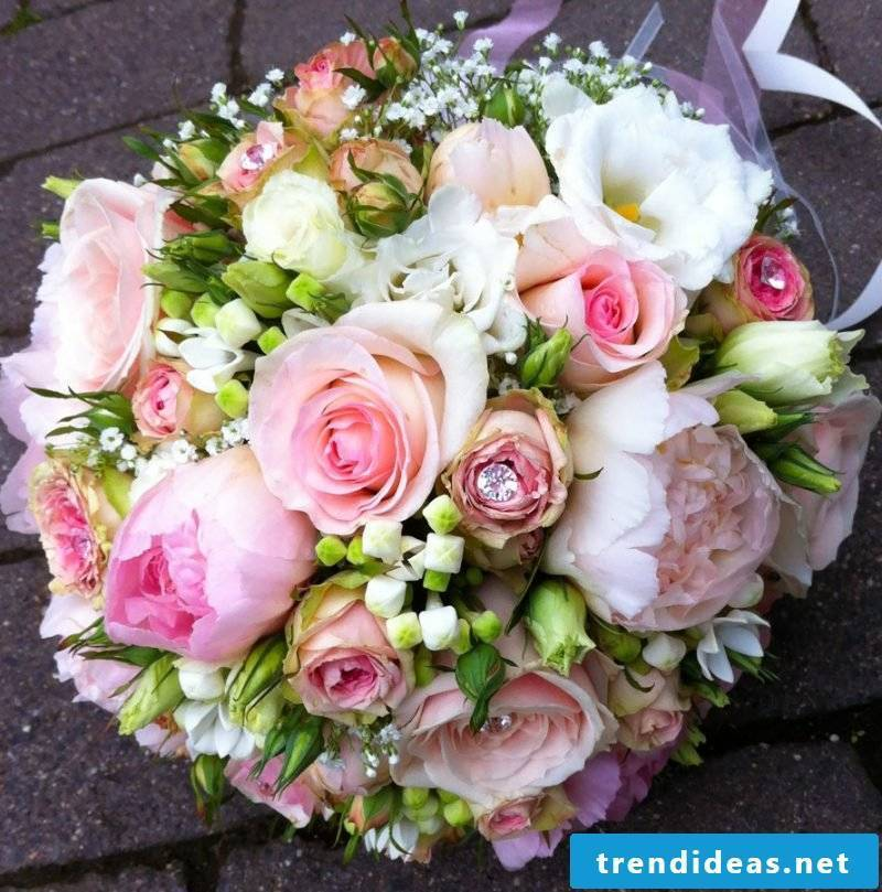 decorated bouquets