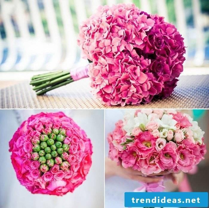 bouquets colorful