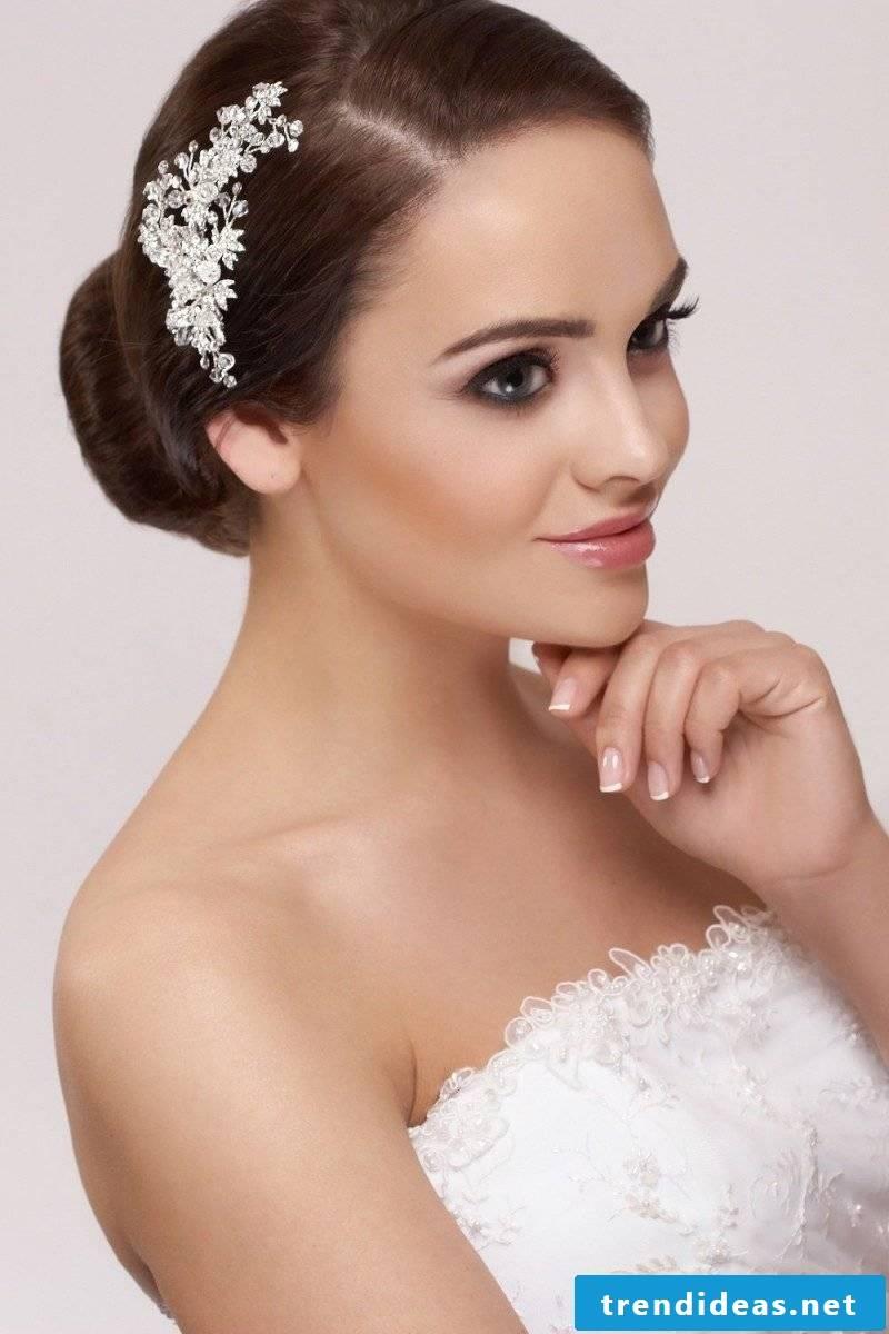 matching bridal hair accessories
