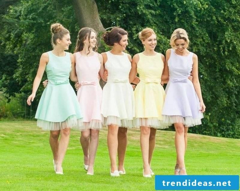 Hairstyles for wedding-raised hair bridesmaids