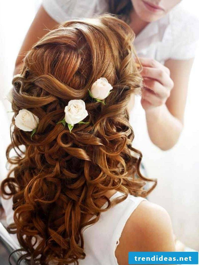 Bridesmaid hairstyles ideas gorgeous curly hairstyle