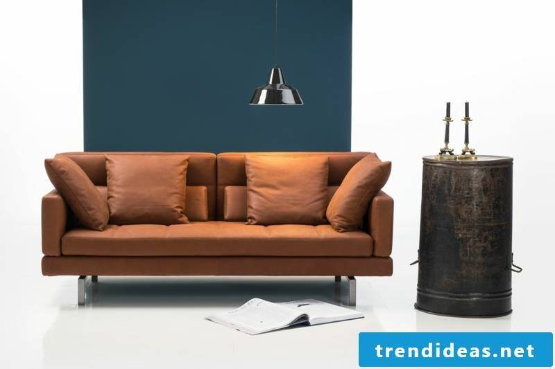 brühl sofas-model-amber leather sofa