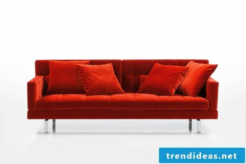brühl sofas-model-amber-red