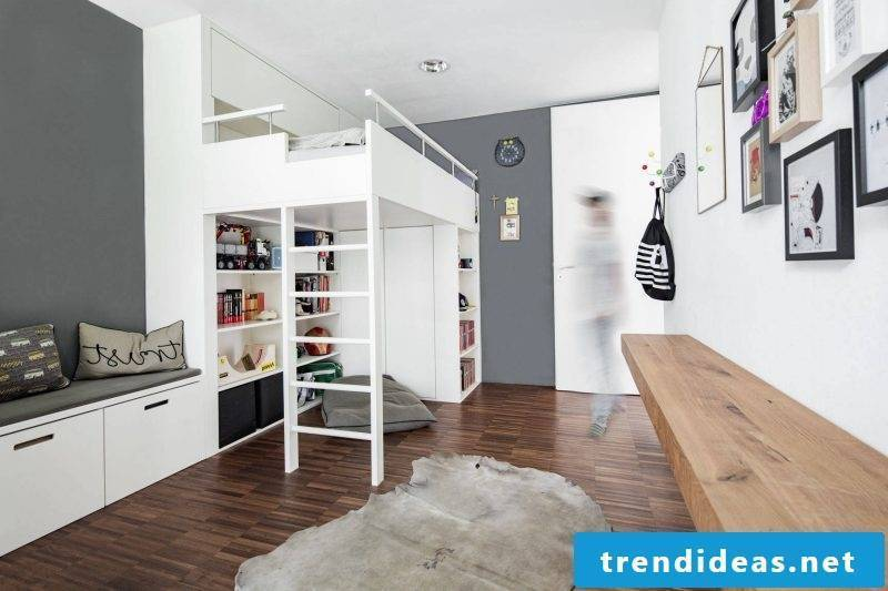 high bed for adults