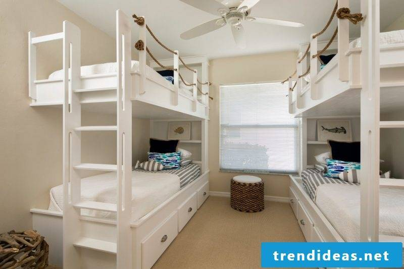 Loft bed build nursery