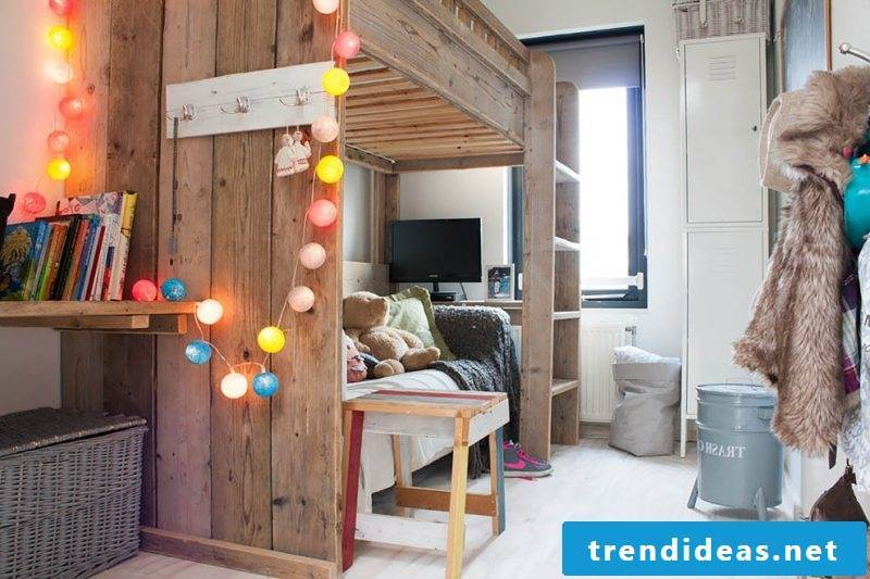Loft bed - build your own bed Instructions