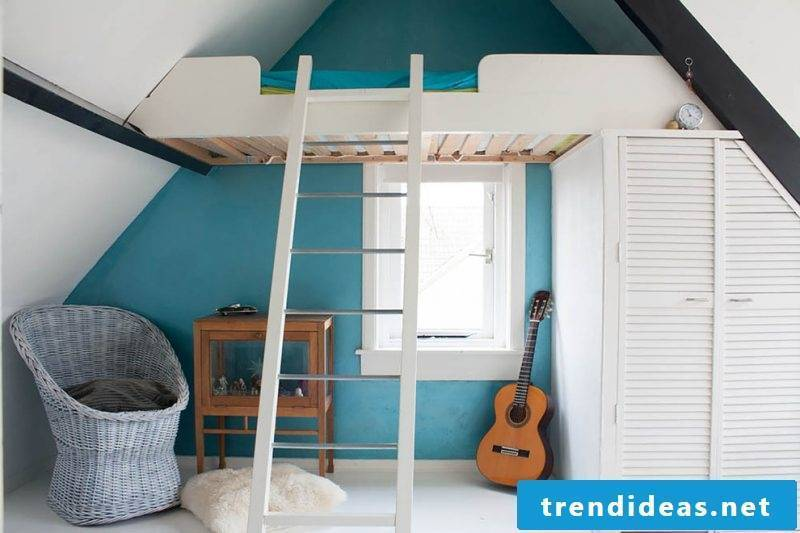 Loft bed adults for small rooms