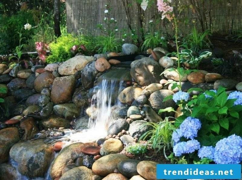 Stream nature look