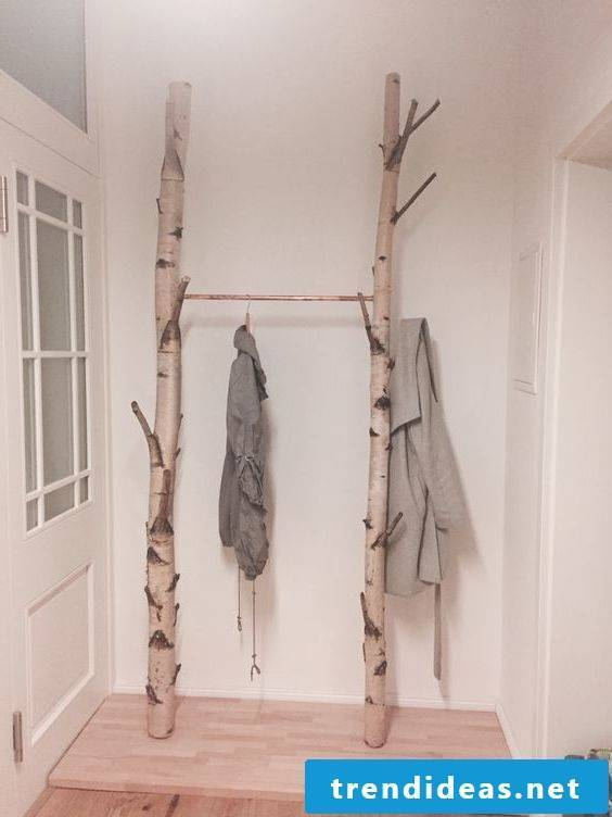 Birch trunks - wardrobe