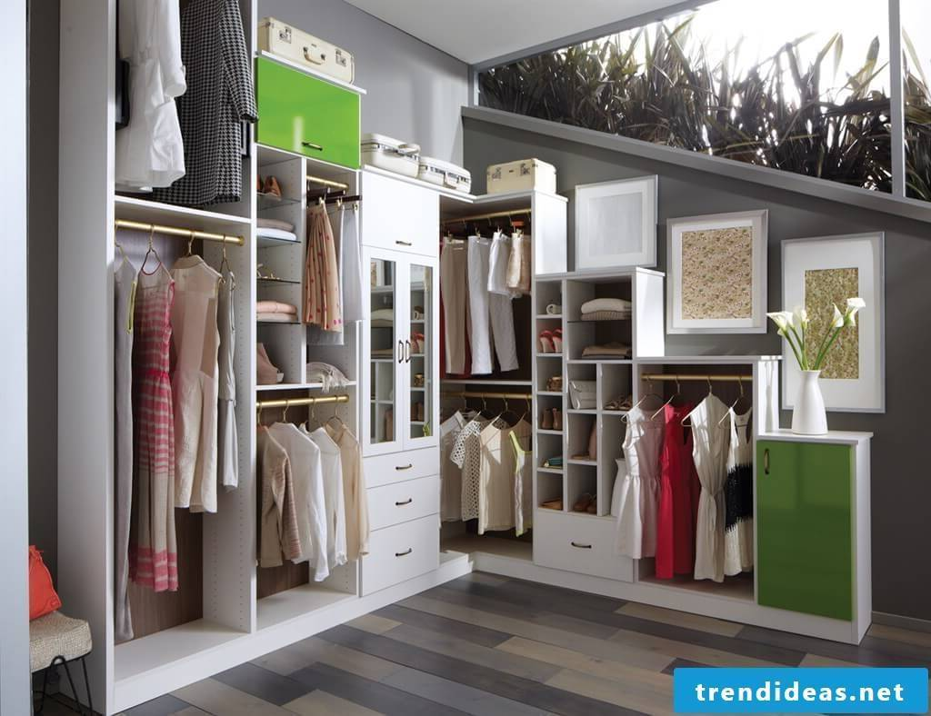 Build the built-in wardrobe yourself