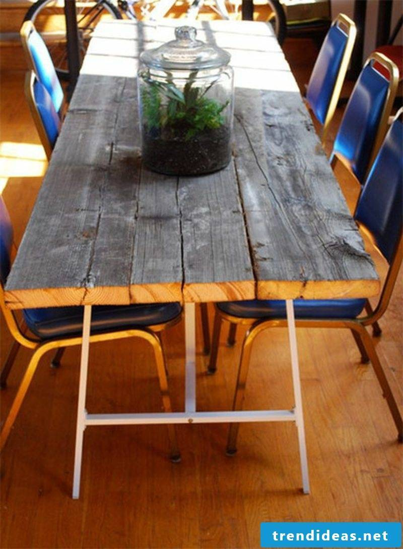 garden table build your own wood table