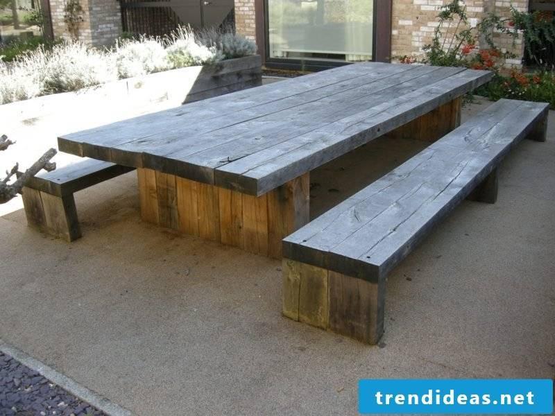 garden table build your own garden