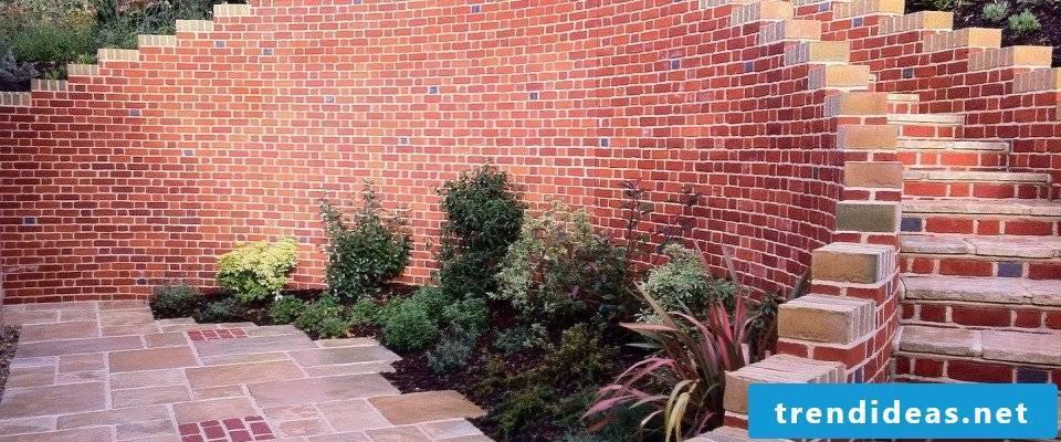 build garden wall instructions garden walls ideas brick wall
