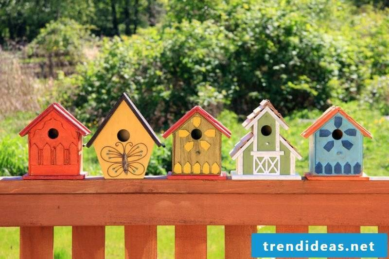 How can you build nesting boxes yourself?