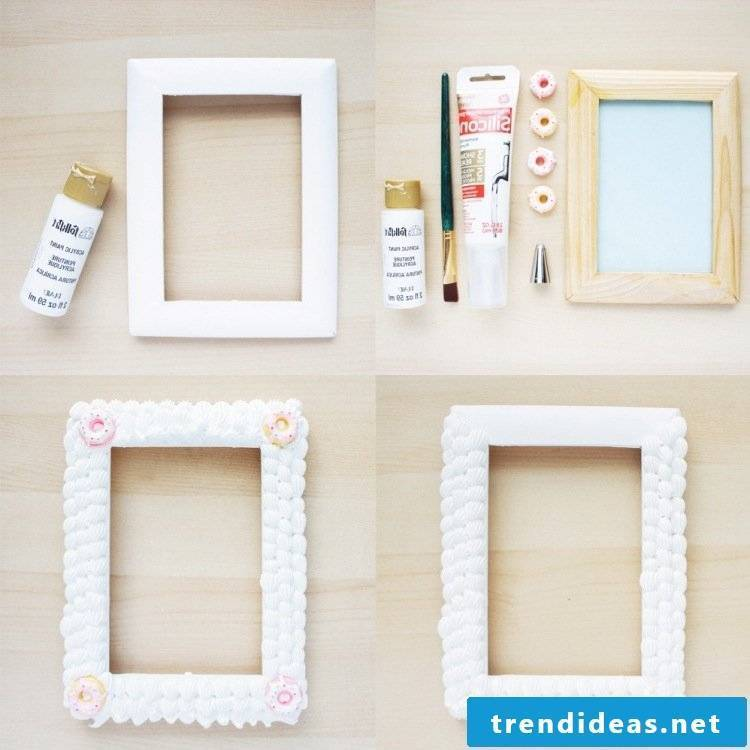 build picture frame yourself white