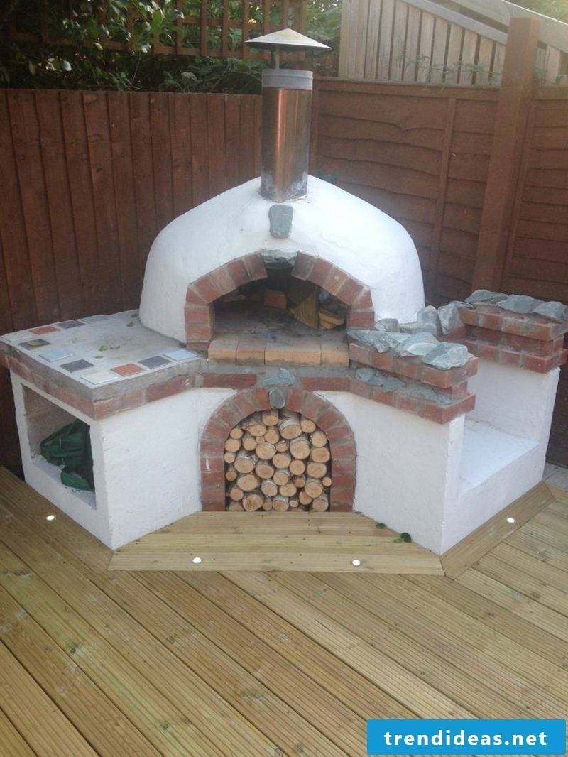 to build pizza oven