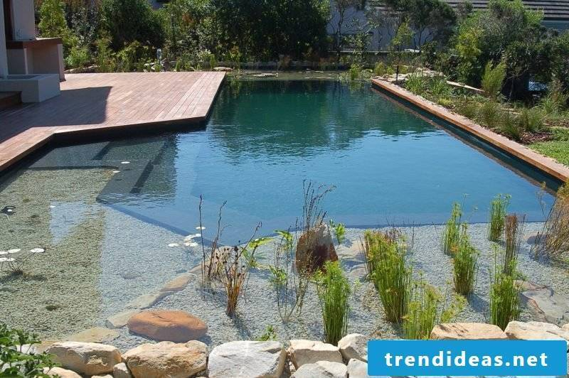 Of course, swimming pond build yourself