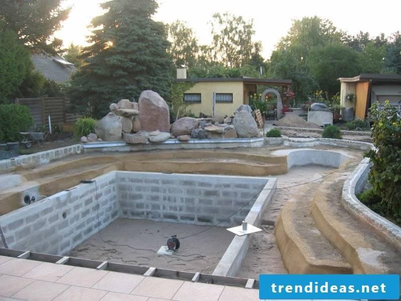 Floating pond build yourself DIY