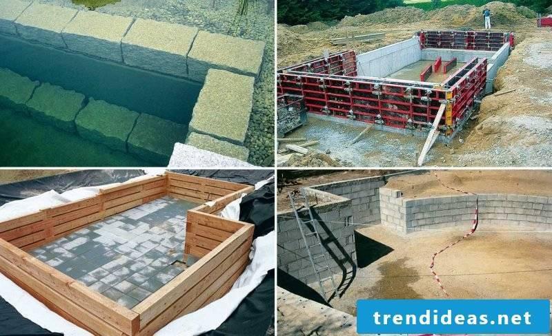 swim pond build yourself creative
