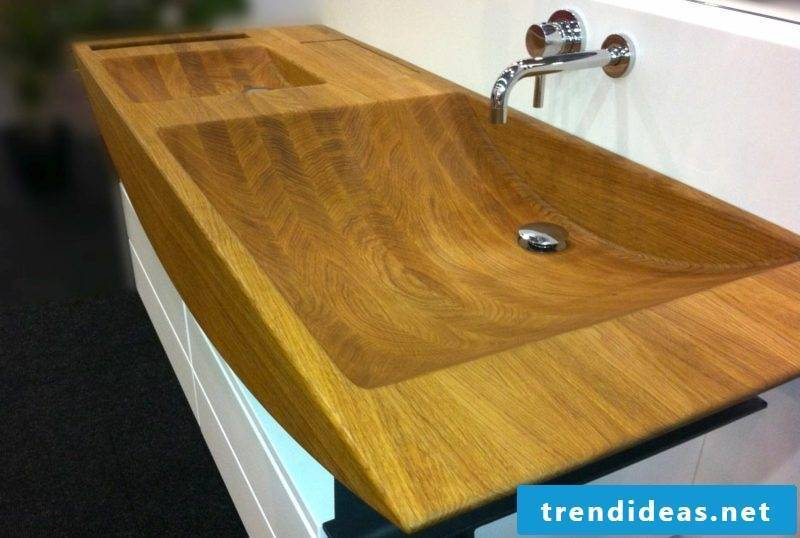 Vanity and sink wood ideas and inspirations