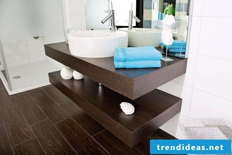 Washstand dark wood