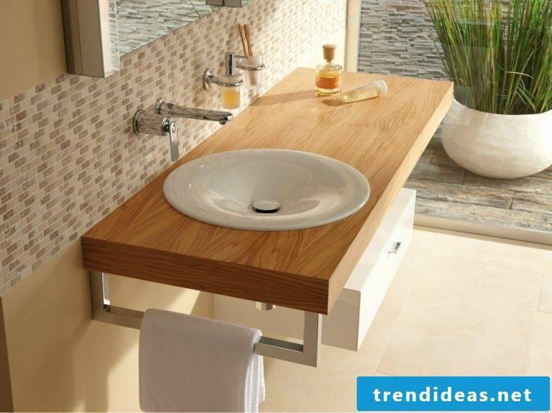 Build the washbasin yourself