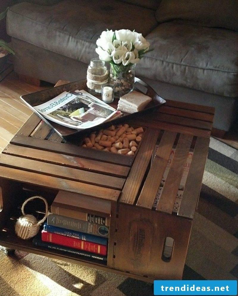 decorative wooden table pallets