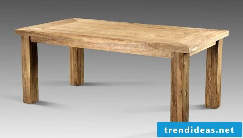Build creative DIY ideas wooden table yourself