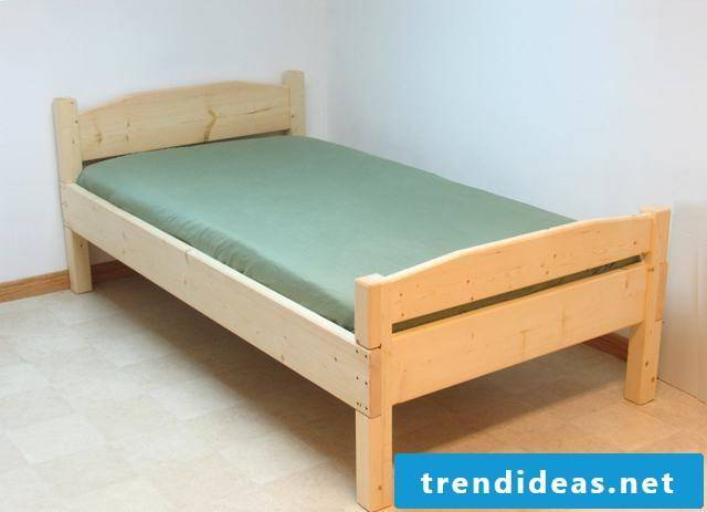 bed yourself build instruction diy bed self build single bed self build instruction