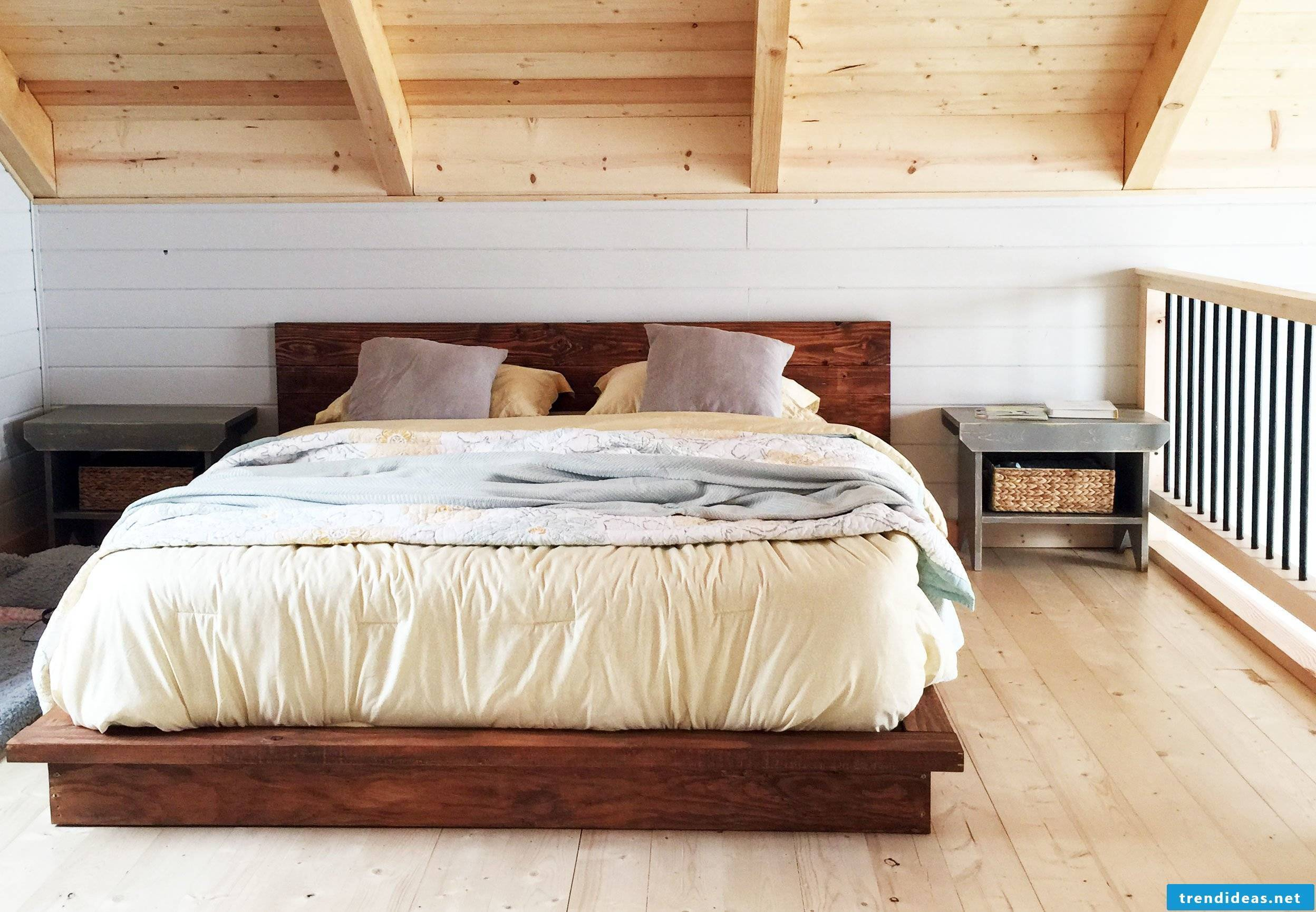 bed yourself build instruction wood