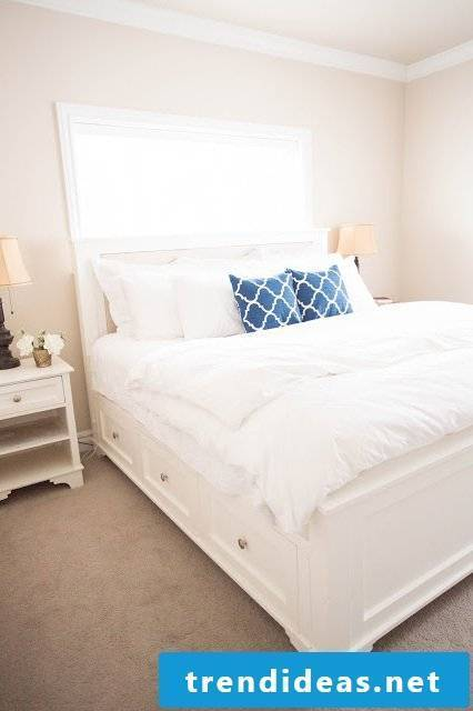 bed self build instruction diy bed bedroom furnishings