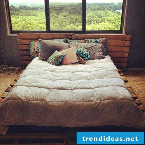 bed yourself build instruction bedstead yourself build diy bed from pallets bedroom set up ideas