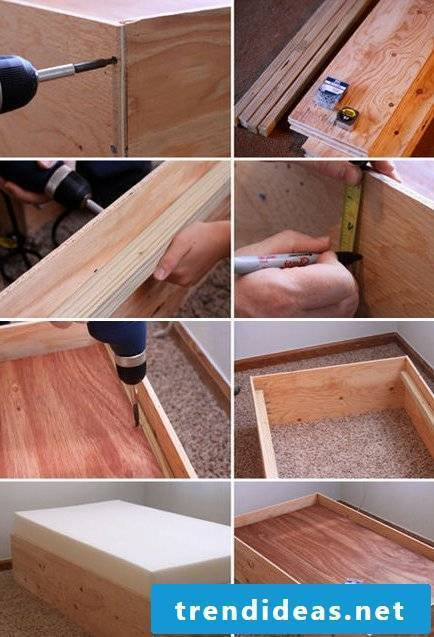 bed yourself build instruction single bed build yourself step by step