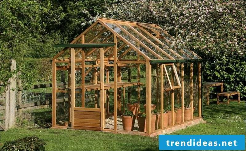 Garden landscaping greenhouse build yourself