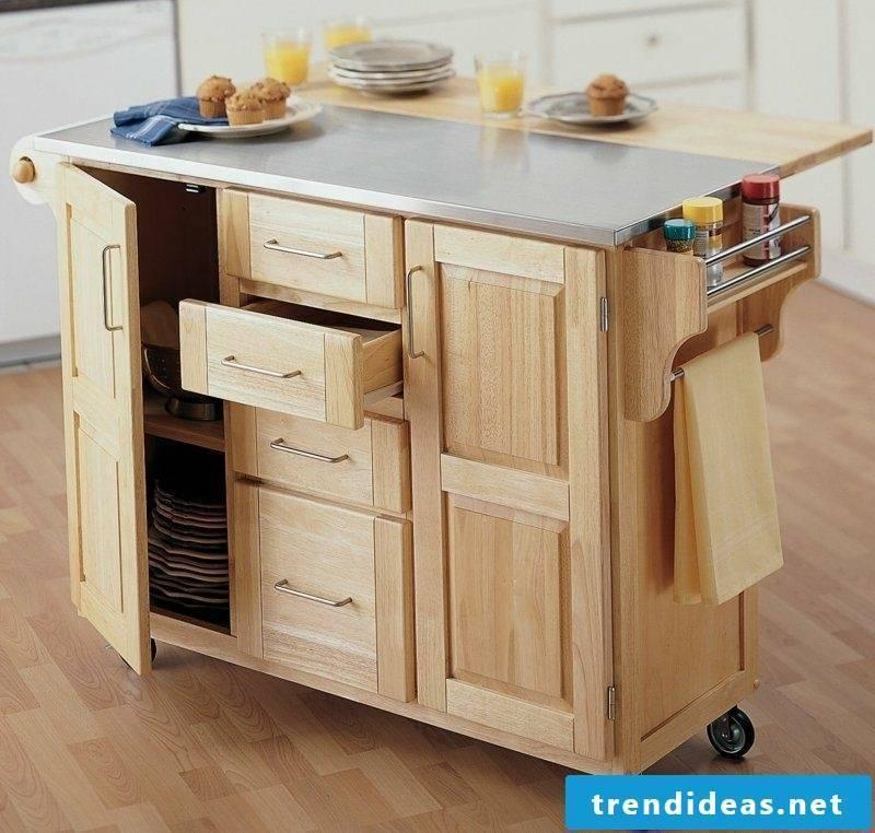Kitchen island practical design