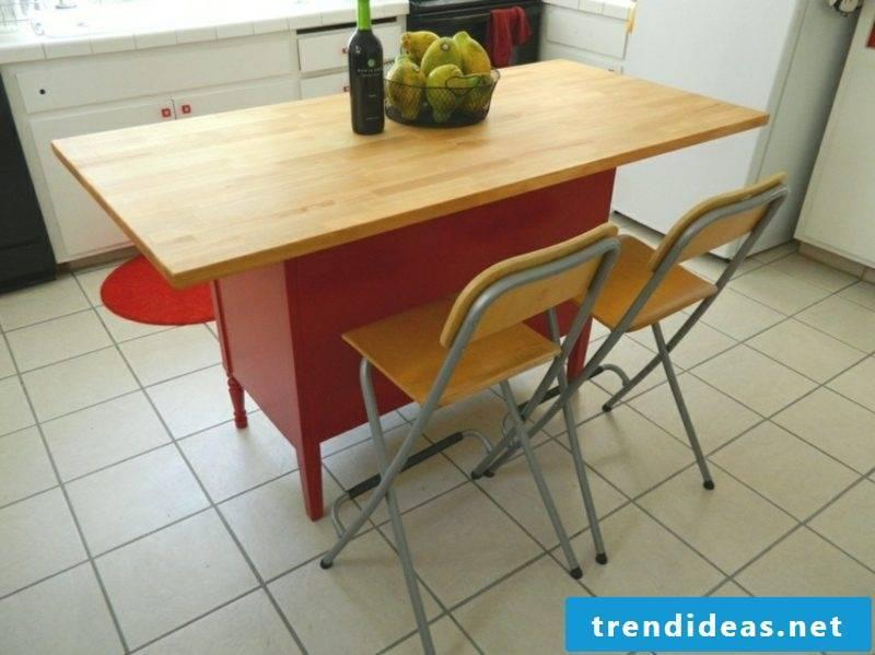 Kitchen island build DIY yourself