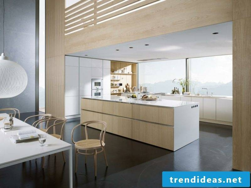Kitchen island modern design