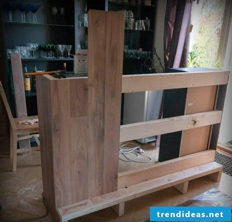 Counter kitchen DIY ideas to imitate