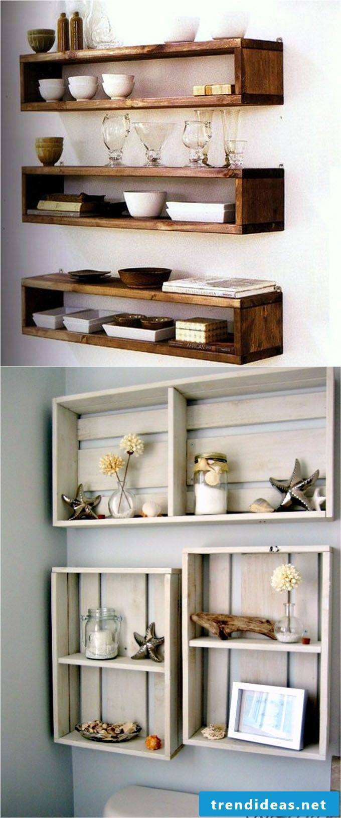 Wall shelf kitchen